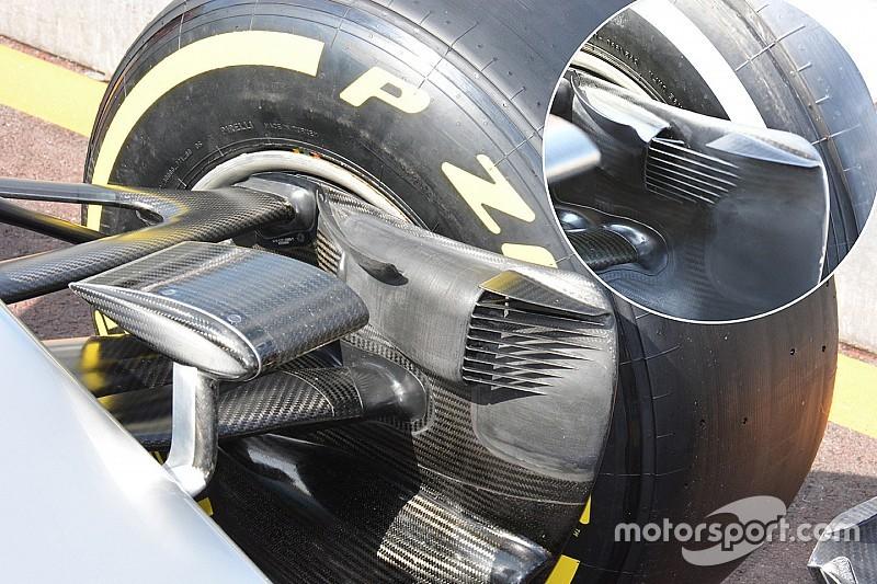 Bite-size tech: Mercedes W07 front brake duct