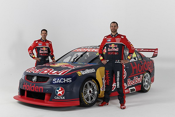 Supercars Breaking news Covers come off Red Bull Holden Supercar