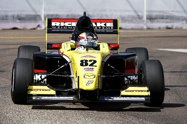 Pro Mazda Race report Telitz on top as O'Ward crashes