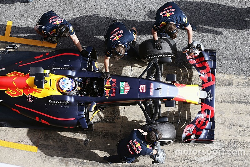 "Ricciardo says Red Bull ""in a good position"""