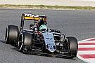 Hulkenberg heads Magnussen, Ferrari stuck in the garage