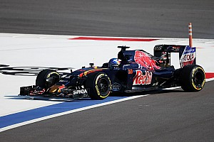 Formula 1 Race report Power unit issue ruins promising race for Toro Rosso's Verstappen in the Russian GP