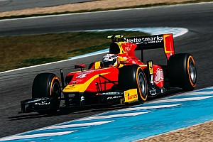 GP2 Testing report King sets the pace on Day 2 at Jerez