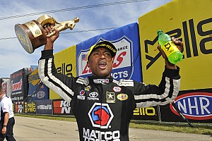 NHRA Race report Antron Brown conquers Chicago to take points lead