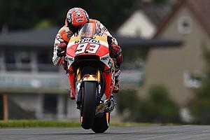 MotoGP Practice report Sachsenring MotoGP: Marquez leads FP3, Lorenzo misses Q2 cut