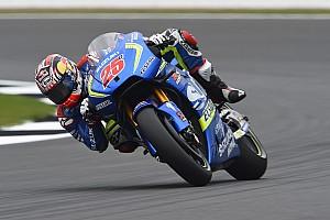 MotoGP Practice report Silverstone MotoGP: Vinales leads first practice, Marquez crashes