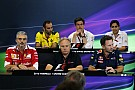 Formula 1 US GP: Friday's press conference