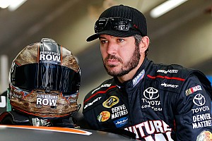 NASCAR Sprint Cup Breaking news Truex takes blame for Charlotte restart wreck:
