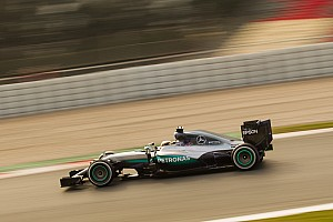 Formula 1 Testing report Hamilton beats Magnussen to keep Mercedes on top