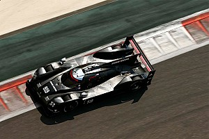 WEC Testing report Porsche 919 Hybrid: Tyre testing in Abu Dhabi concluded