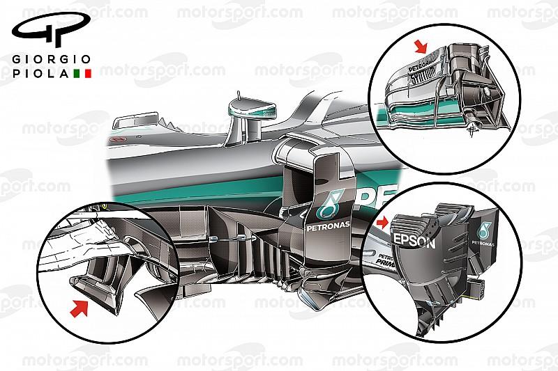 Видеоанализ: секреты чемпионской машины Mercedes