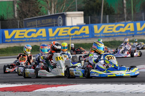 Kart Race report Sargeant secures first senior karting title in WSK Champions Cup