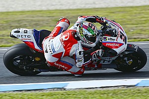 MotoGP Testing report Petrucci tops wet first day at Phillip Island