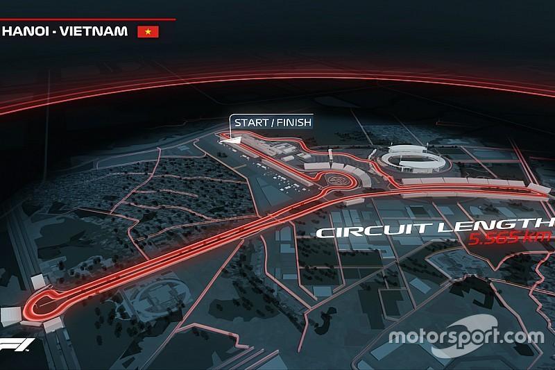 Svelato il nuovo GP del Vietnam: in calendario dal 2020