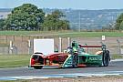 Formula E Abt leads rain-affected third Formula E test day