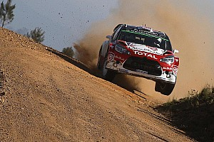 WRC Leg report Portugal WRC: Meeke continues to lead but Ogier closes in