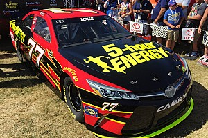 NASCAR Sprint Cup Press conference Grassroots effort pays off for Jones and Toyota