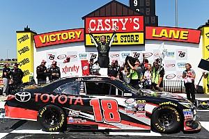 NASCAR XFINITY Interview For Hornish, Xfinity win