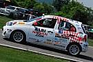 Nissan Micra Cup Olivier Bédard wins race 2 at Canadian Tire Motorsport Park