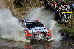 WRC Leg report Hyundai Motorsport on the pace in Argentina as Paddon holds provisional podium