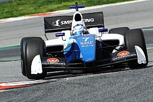 Formula V8 3.5 Testing report Orudzhev quickest on Day 1 of Aragon test