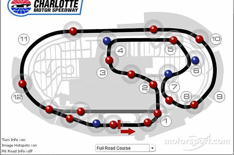 Image result for charlotte nascar road course