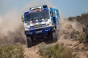 Ралли-рейды Отчет об этапе Экипажи КАМАЗа одержали тройную победу на шестом этапе