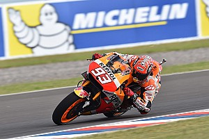 MotoGP Practice report Argentina MotoGP: Marquez leads Honda 1-2 in second practice