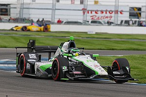 IndyCar Breaking news Coyne happy with Daly's star turn in GP Indy