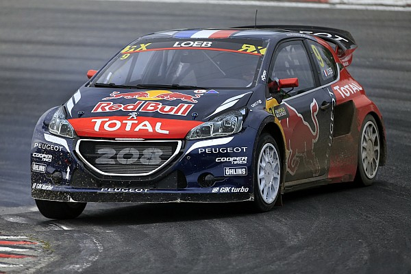 World Rallycross Leg report Sweden WRX: Loeb takes Q1 lead as Ekstrom and Solberg fail to finish