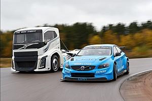 WTCC Curiosità The Iron Knight vs Volvo TC1: la sfida (quasi) inedita fra camion e auto