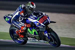 MotoGP Practice report Qatar MotoGP: Lorenzo leads Rossi in opening practice