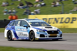BTCC Breaking news Subaru withdraws from Thruxton on safety grounds