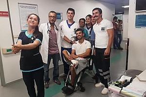 Türk Sporcularımız Son dakika 3. kattan havuza atlayan Kenan Sofuoğlu sakatlandı