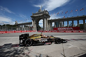 "IndyCar Breaking news Hinchcliffe relieved ""insanely bad luck"" at Toronto is over"