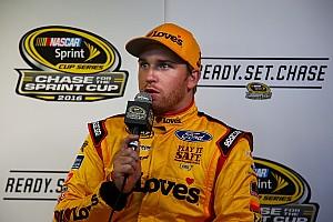 NASCAR Sprint Cup Interview Chase surprise Chris Buescher: