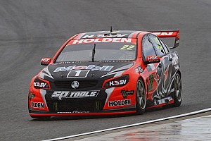 V8 Supercars Practice report Barbagallo V8s: Courtney braves the rain to top FP2