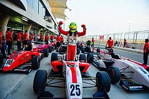 Indian Open Wheel Yarış raporu Bahreyn MRF: Schumacher'den ikinci zafer