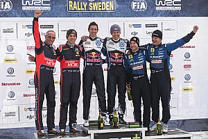 WRC Stage report Sweden WRC: Ogier seals victory with Power Stage win