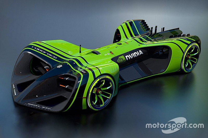 Roborace reveals size of driver-less racecars and AI partner