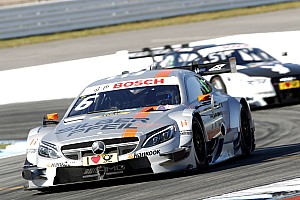 DTM Race report Mercedes' Robert Wickens places second in season opener at Hockenheim