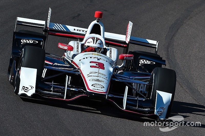 Castroneves P1 in mixed session for Penske