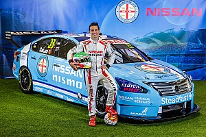 Supercars Breaking news Caruso to run football-inspired livery in Townsville