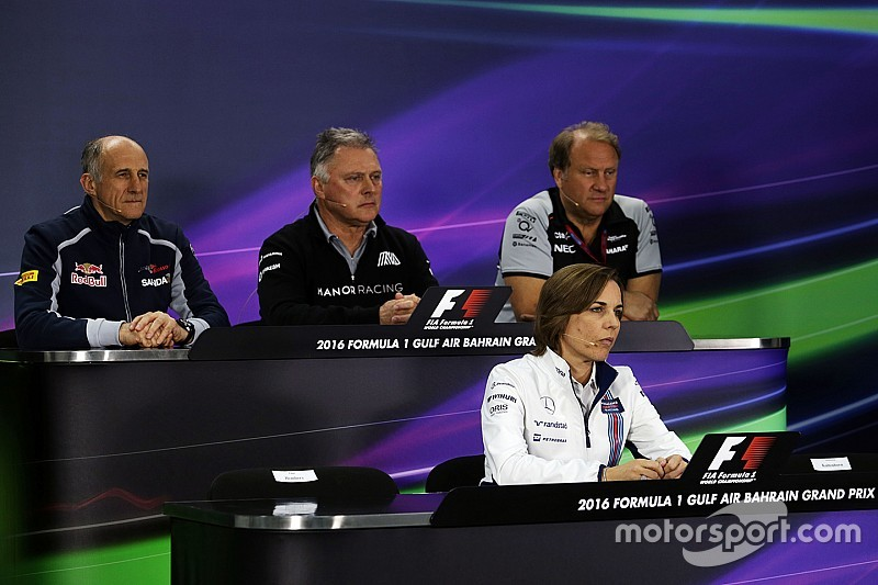 Bahrain GP: Friday's press conference