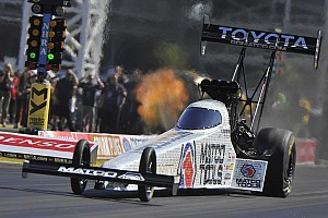 NHRA Race report Top Fuel champ Brown scores first win of the year