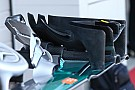 Formula 1 Bite-size tech: Mercedes W07 front wing endplate changes