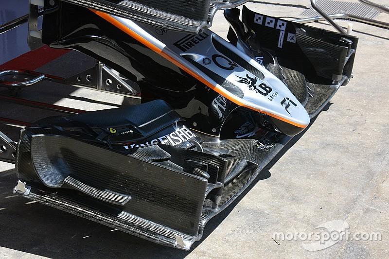Перес: слабке переднє антикрило заважало Force India