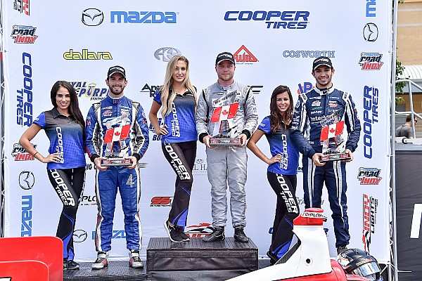Indy Lights Race report Rosenqvist dominates as Toronto claims casualties