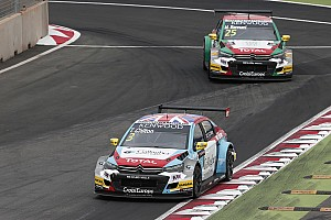 WTCC Breaking news Chilton excluded from Morocco's main race