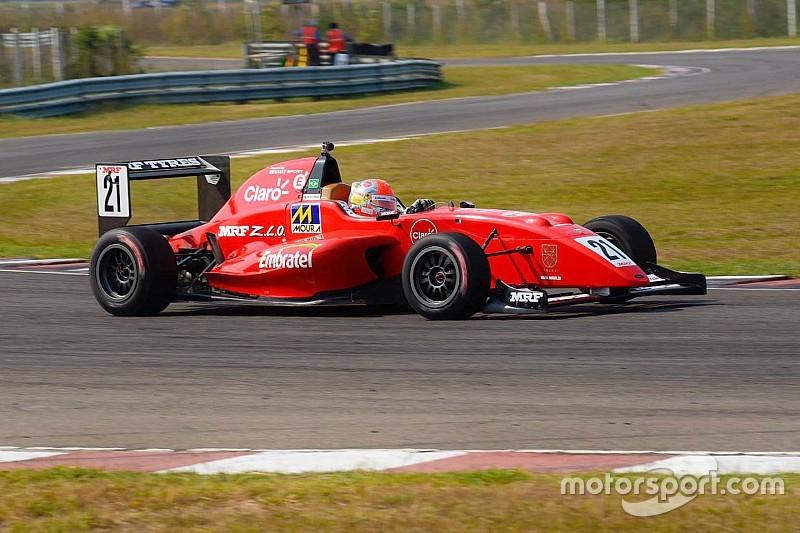 Chennai MRF Challenge: Fittipaldi crowned champion after winning Race 3